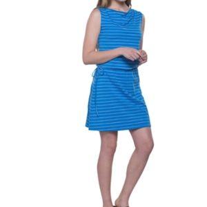 Kuhl M Kyra Switch Dress Striped Blue NWT